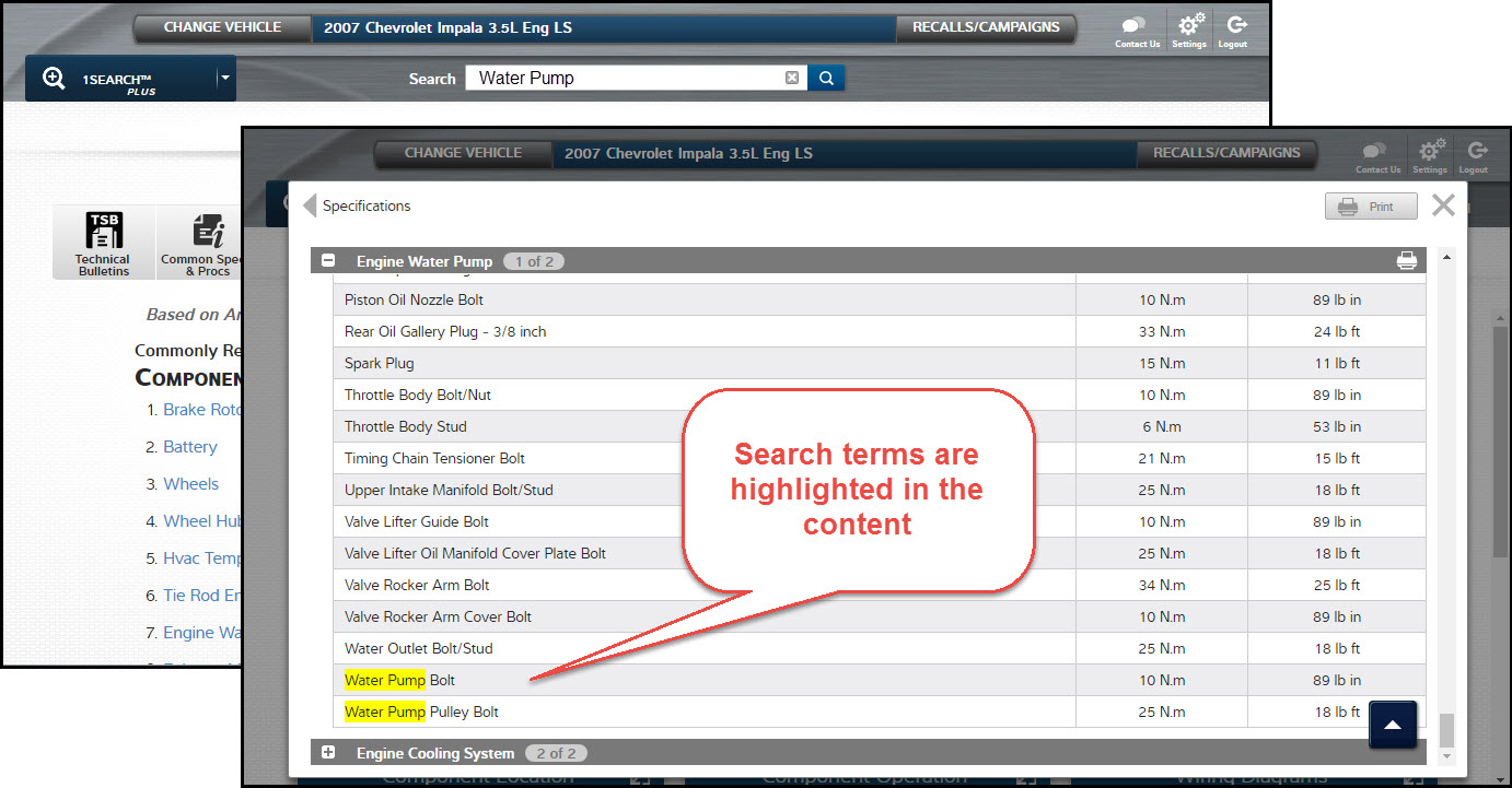 ProDemand 1Search Plus Updates